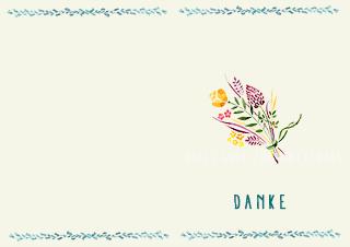 Muttertagskarte Bouquet